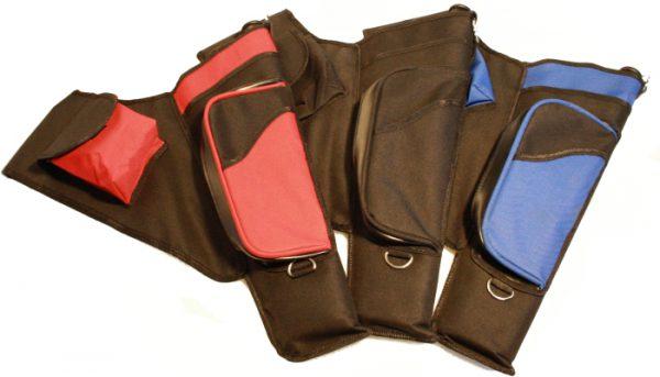 Einsteiger Köcher mit 2 Taschen
