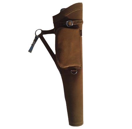 Traditioneller Seitenköcher mit Tasche