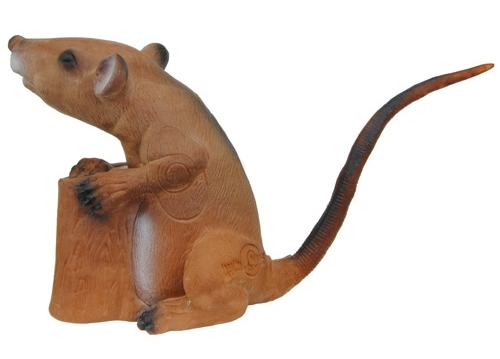 Ratte sitzend